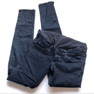 H&M mama maternity skinny jeans dark wash